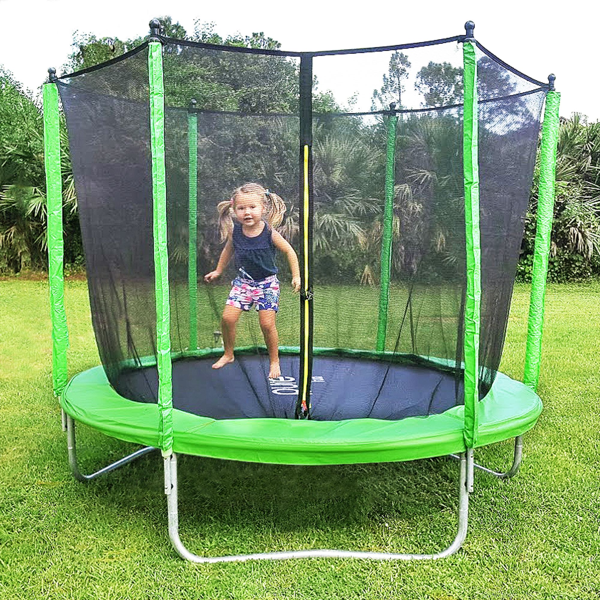 Pure-Fun-9308TS-8ft-Trampoline+Enclosure-Lifestyle