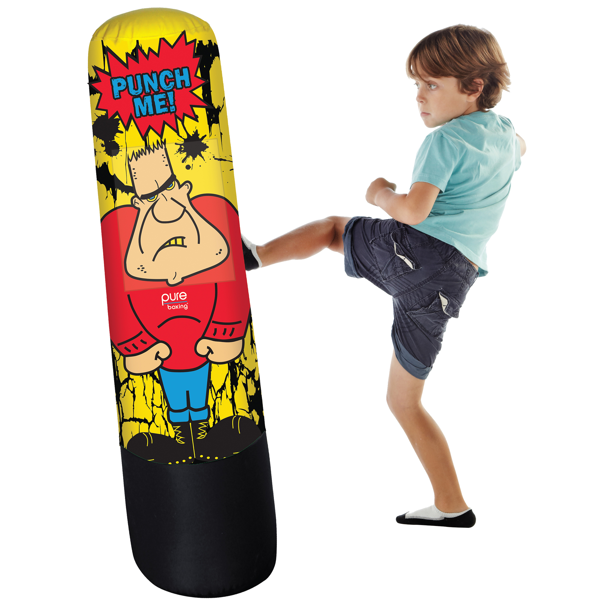 Pure Boxing Bully Bag Inflatable Punching Bag - 8915BB - Lifestyle